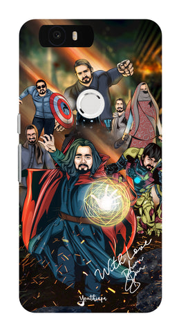 BB Saste Avengers Edition for Huawei Nexus 6P