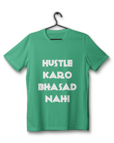 The Hustle Bhasad Tee - Green