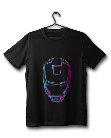 Iron Man (Fan Art) - Black Tee