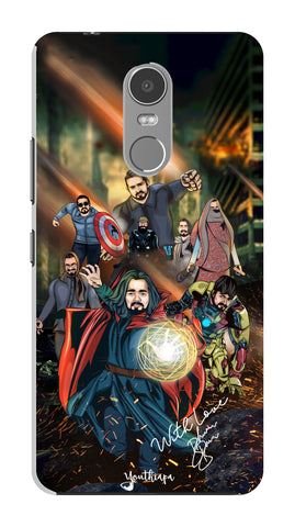 BB Saste Avengers Edition for Lenovo K6 Note