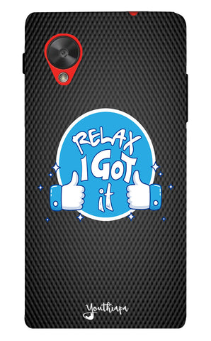 Relax Edition for Lg Nexus 5