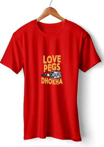 Love Pegs Dhokha_Red