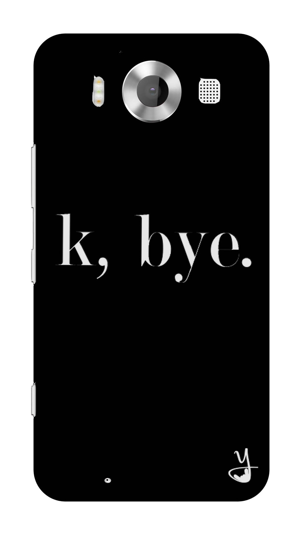 K BYE black for Microsoft Lumia 950