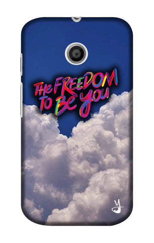 The Freedom To Be You Edition for Motorola E