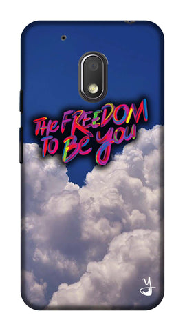 The Freedom To Be You Edition for Motorola G4 Play
