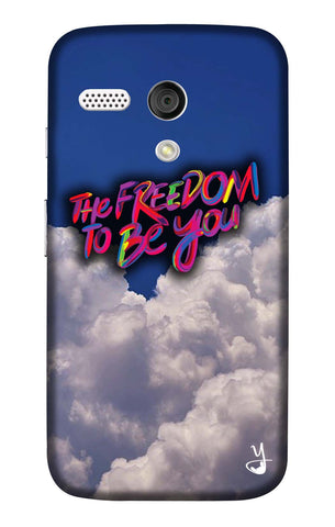 The Freedom To Be You Edition for Moto G