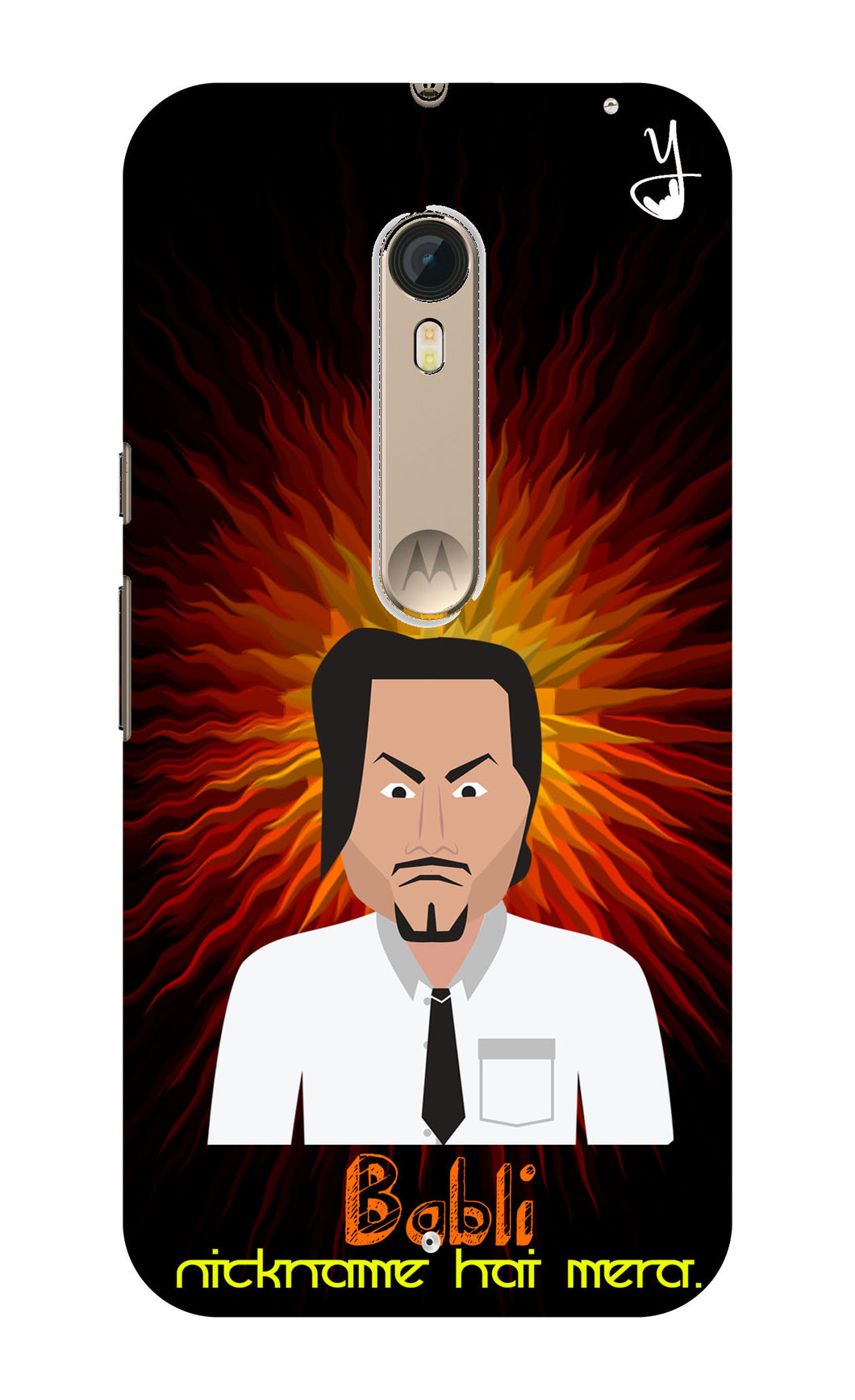 Angry Master Ji Edition for Motorola X Style