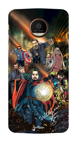 BB Saste Avengers Edition for Motorola Moto Z Force