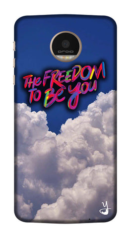 The Freedom To Be You Edition for Motorola Z