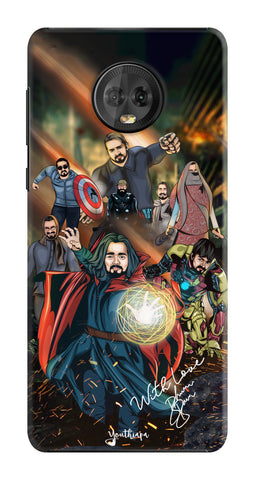 BB Saste Avengers Edition for Motorola Moto G6