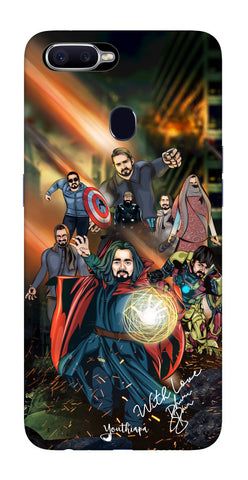 Saste Avengers Edition for Oppo F9 Pro
