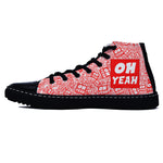 Oh Yeah Red Edition Black Shoes