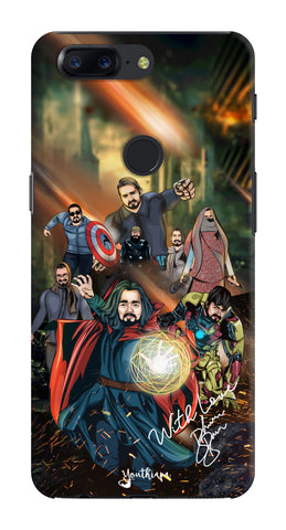 BB Saste Avengers Edition for One Plus 5T
