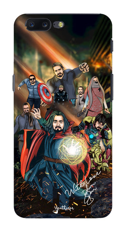 BB Saste Avengers Edition for One Plus 5
