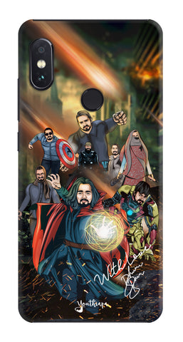 BB Saste Avengers Edition for Xiaomi Redmi Note 5 Pro
