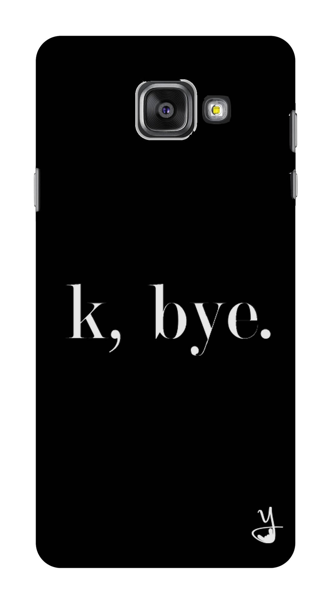 K BYE black for Samsung Galaxy A7  2016