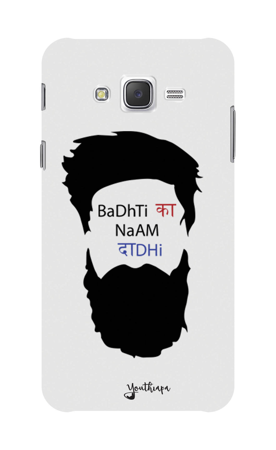 THE Beard Edition WHITE for SAMSUNG GALAXY J7