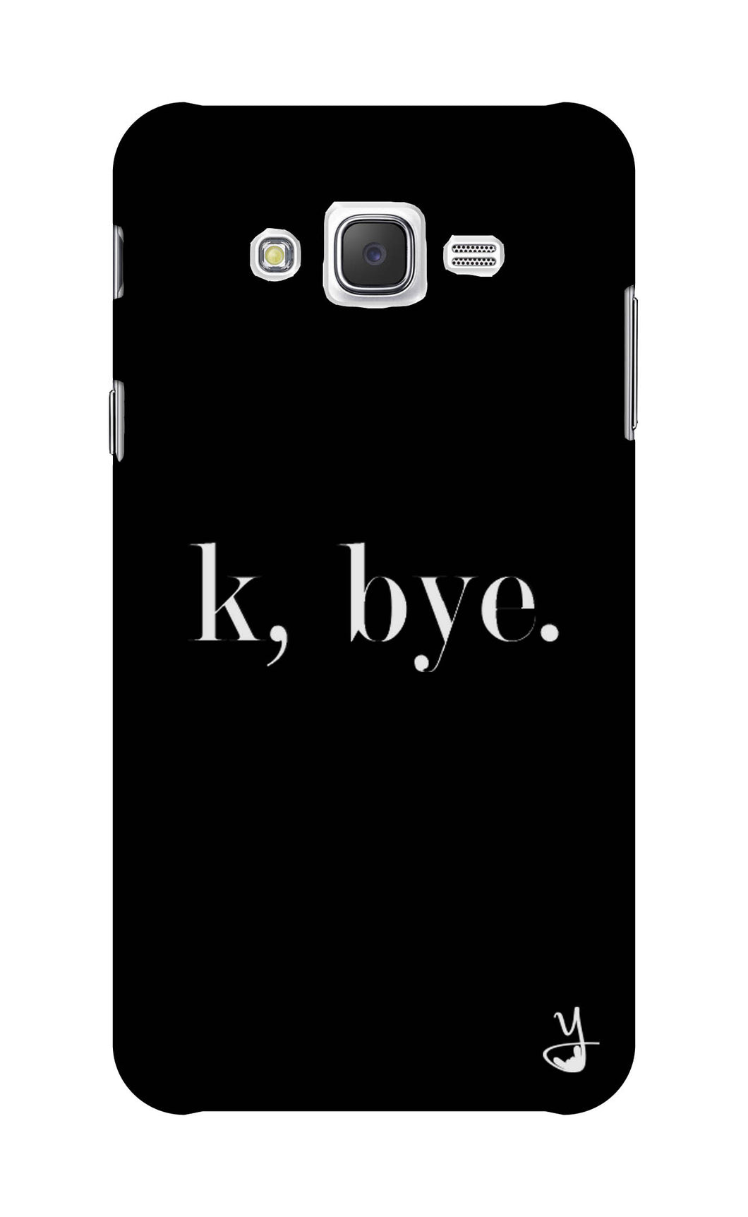 K BYE black for Samsung Galaxy J7