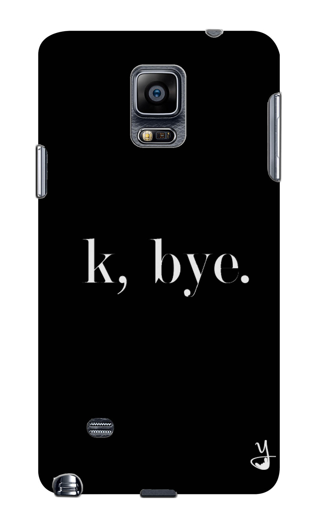 K BYE black for Samsung Galaxy Note 4