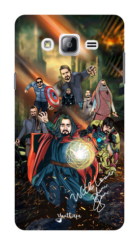 BB Saste Avengers Edition for Samsung Galaxy ON 7