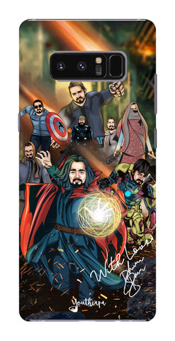 BB Saste Avengers Edition for Samsung Galaxy Note 8