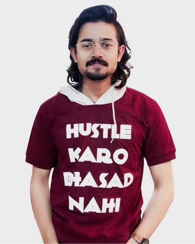The Hustle Bhasad Summer Hoodie