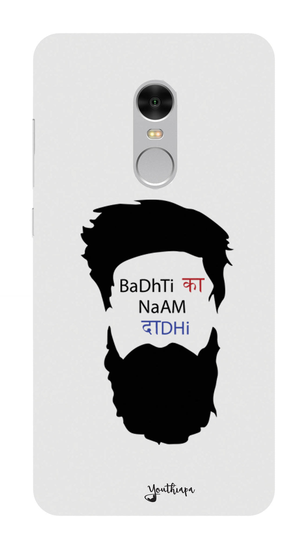 The Beard Edition WHITE for XIAOMI REDMI NOTE 4