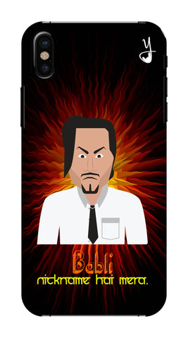 Angry Master Ji Edition FOR I PHONE X