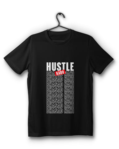 Hustle Limited Edition- Black T-Shirt