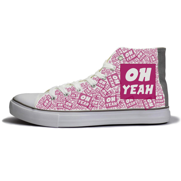 Oh Yeah Magenta Edition Shoes (pre order average dispatch time 10 days)