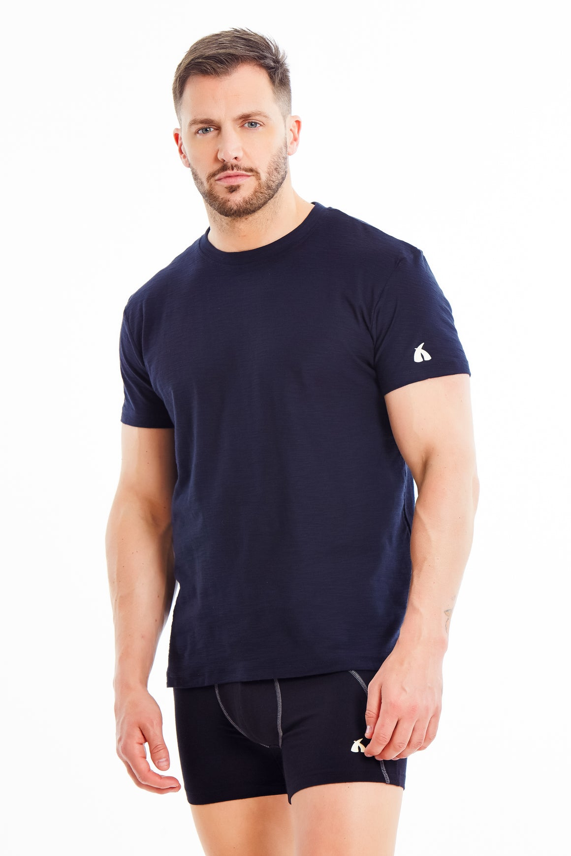 Luxury 100% Cotton T-Shirt + Boxer Brief Offer!