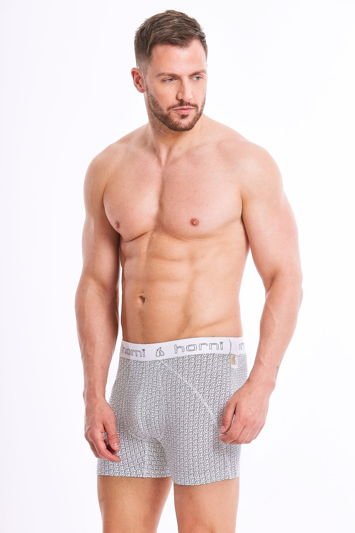 2 Pack - Boxer Briefs - Horn Print