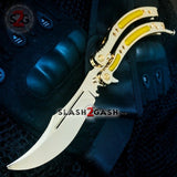 CSGO Golden Butterfly Knife TRAINER Dull Spring Latch PRACTICE Balisong