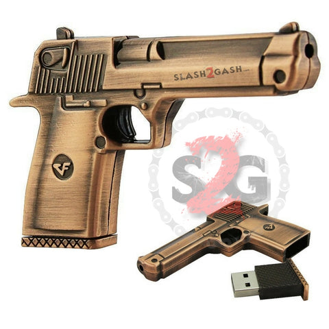 Desert Eagle Pistol Gun USB Flash Drive 2.0 Metal w/ Mag 16 GB 32 GB Memory stick pendrive