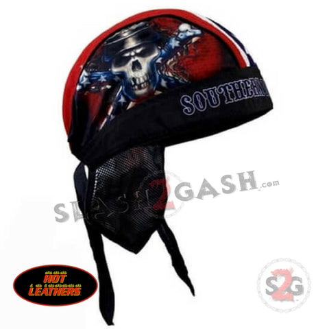 Hot Leathers Southern Discomfort Motorcycle Headwrap Rebel Durag