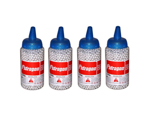 Fidragon Airsoft BBs .20g Seamless Competition Grade Bottle - 2000 Round