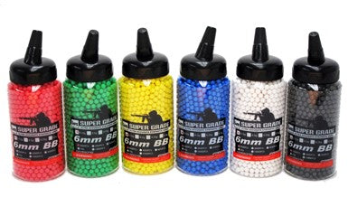HFC 1000 Round .12g Bottle Airsoft BBs 6mm Best Quality - Taiwan