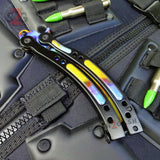 CSGO Case Hardened Butterfly Knife TRAINER Dull PRACTICE CS:GO Counter Strike Balisong
