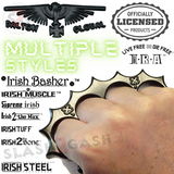 Black Knuckles Spiked Dalton Global Paperweight Irish Devil Steel Pointed Duster Buckle - Robbie Dalton slash2gash S2G