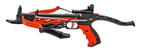 80 lb Pistol Crossbow THE IMPACT w/ Arrows Bolts Hunting Archery Gun - Self Cocking