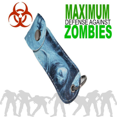 Zombie Pepper Spray Key Chain Mace - 1/2 Ounce