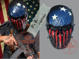 Captain 9 Styles Tactical Mask Airsoft Wargame Paintball Motorcycle Halloween Full Face Skull