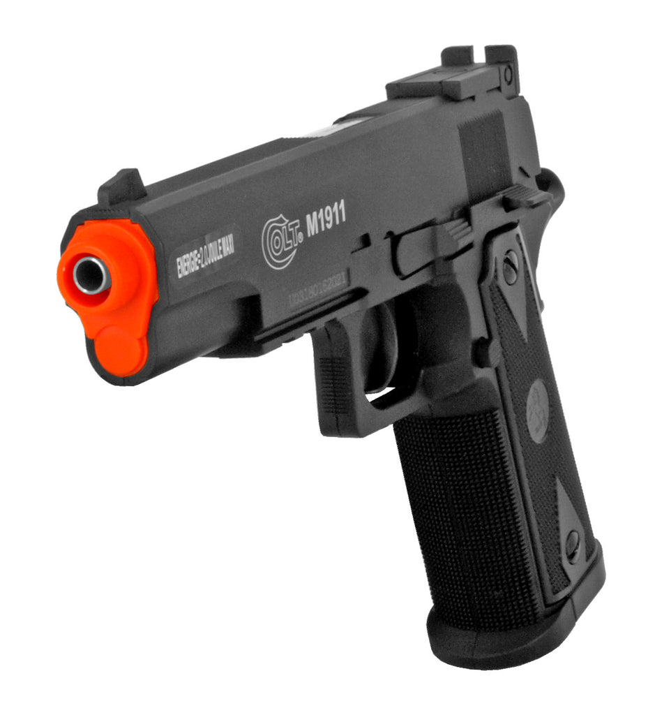 395 FPS Airsoft Licensed Colt M1911 CO2 Semi-Automatic Pistol