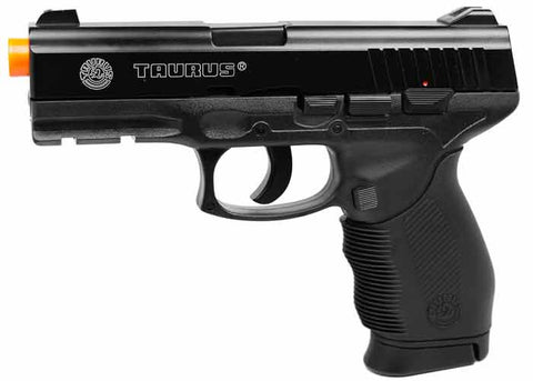 394 FPS Airsoft Licensed TAURUS PT 24/7 CO2 Semi-Automatic Pistol