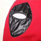 Deadpool Superhero Mask Balaclava Halloween Cosplay Costume X-men Party Full Face PU Leather