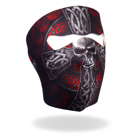 Hot Leathers Celtic Cross Neoprene Face Mask
