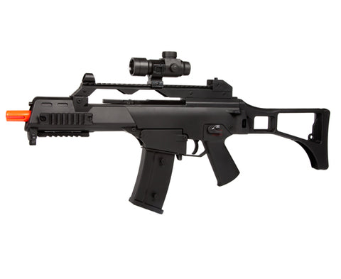 WELL G36 D68 Full Auto Electric Gun Airsoft Rifle AEG - Hybrid Gearbox, Metal & Plastic Gears