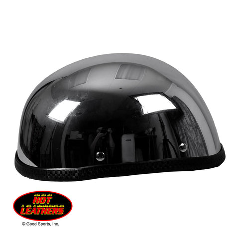 Hot Leathers Eagle Style Chrome Novelty Helmet