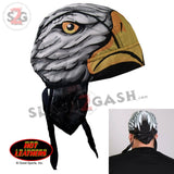 Hot Leathers Eagle Head Premium Headwrap Motorcycle Durag