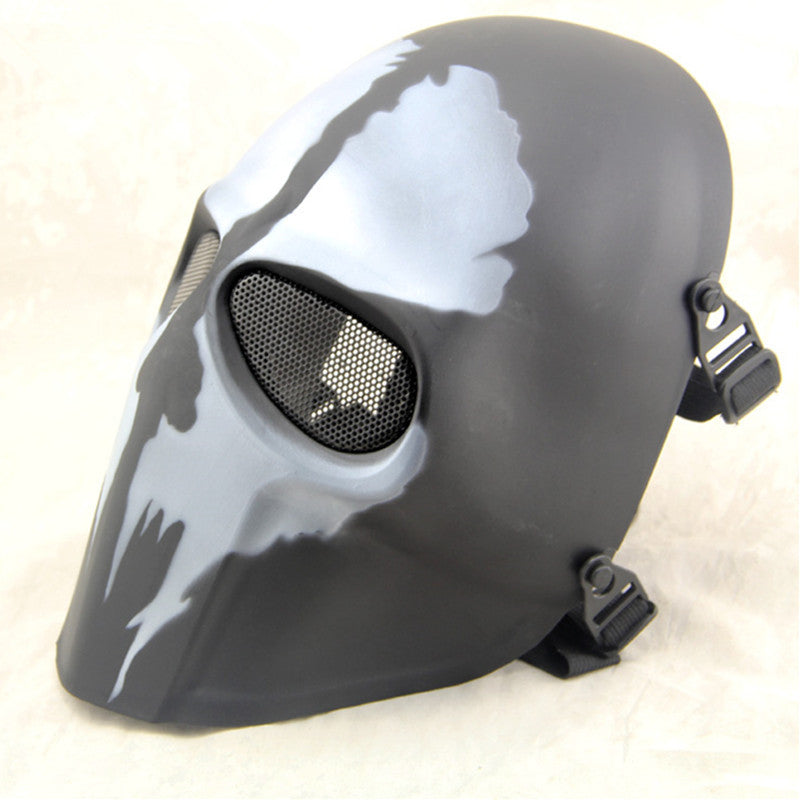 Cod Ghost Paintball Mask Outdoor Army Full Face Airsoft Tactical Skull Slash2gash